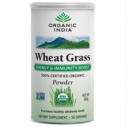 Organic India Wheat Grass 100gm at best price