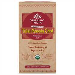 Organic India Tulsi Masala Chai with 25 Tea Bags